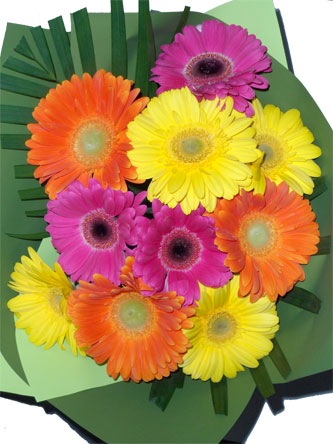 gerberas flower bouquet