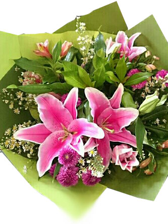 pink-infinity-flower-bouquet