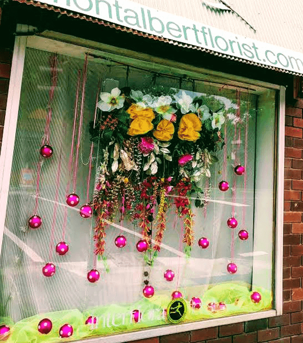 Mont Albert Florist Window